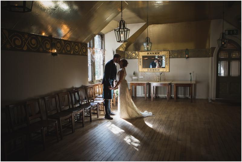 David Amp Lauras Westend Wedding At Cottiers Glasgow